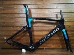 Wholesale carbon bike frame red - 2018 NEW colnago concept T1000 UD carbon full carbon road bike frame racing bicycle frameset size XXS XS S M L XL made in taiwan frames