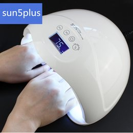 Wholesale Uv Lamp Sensor - 48W UV Light Therapy Lamp Nail Dryer Powerful LED Gel Polish Lamp Nail Dryer Curing All Gels with Auto Sensor Nail Art Tools