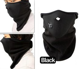 Wholesale Neck Warmer Scarf Sport - Outdoor Sports Fleece Face Mask Winter Ski Snowboard Hood Windproof Neck Warm Motorcycle Cycling Cap Hat Bicyle Thermal Scarf