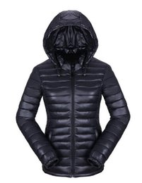 Wholesale Thin Can - The new winter coat feather padded short female thin Slim small cotton padded jacket coat hat can be