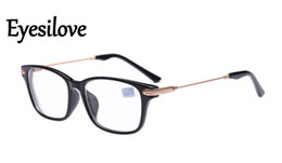 Wholesale Cheap Oval Frames - retail cheap finished prescription eyeglasses Unisex Nearsighted Glasses Myopia glasses Diopter -1.0,-1.5,-2.0,-2.5,-3.0,-3.5, -4.0