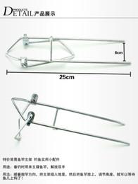 Wholesale Cheap Pliers - Hand sea dual pole sea fish fishing gear fishing rod holder bracket fort Cheap dual frame bar bracket pole holder inserted