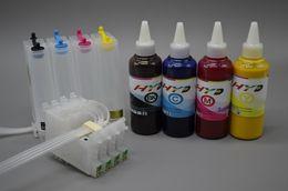 Wholesale Sublimation Inks - Bulk Ink System BIS for Epson Stylus C88 + Set of 4 color dye sublimation ink