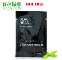 Wholesale Close Pores - 10000pcs PILATEN Tearing Deep Cleansing Purifying Peel off Blackhead Close Pores Face Mask Remove Cleaner Black Head Facial Mask Nose Care