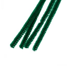 Wholesale Diy Green Cleaning - Wholesale-Dorabeads Terylene Chenille Stick Pipe Cleaner Craft DIY Making Christmas Dark green 30cm,2 Bundles(Approx 100PCs Bundle)