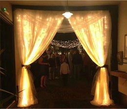 Wholesale Dc Led Garden Light - Curtain String Lights Garden Lamps New Year Christmas Icicle LED Lights Xmas Wedding Party Decorations 300LEDs 3M*3M 1000LEDs free shiipping