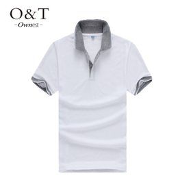 Wholesale Wholesale Mens Casual Shirt - Wholesale-Hot mens fashion brand t shirt top summer style short sleeve tees t shirt for men casual new free shipping