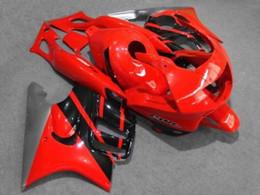 motorcycle honda cbr f3 NZ - Motorcycle Fairing kit for HONDA CBR600F3 95 96 CBR600 F3 CBR 600F3 1995 1996 CBR 600 Red black silver Fairings set+8gifts HM16