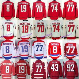 Wholesale Oshie Jersey - Washington 77 TJ Oshie Hockey Jerseys 8 Alex Ovechkin 70 Braden Holtby 19 Nicklas Backstrom 92 Evgeny Kuznetsov 44 Brooks Orpik
