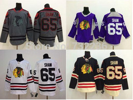 blackhawks purple jersey Canada - 30 Teams-Wholesale 2015 New Arrival Chicago Blackhawks Hockey Jerseys 65 Andrew Shaw Jersey,Free Shipping