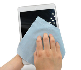 Wholesale Cleaning Cloths For Phone - 50x Screen Camera Clean Cloth For Smart phone Tablet PC LG Iphone Samsung LG Htc Lens Glasses suede leather Material EA037