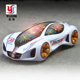 Wholesale Cool Car Toys - New Cool car LED Light Music Universal Electric Flash 3D Lights Children's Sports Toy Car, Educational Toys for Children Gift