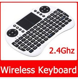 Rii I8 Fly Air Mouse Mini Wireless Handheld Keyboard 2.4GHz Touchpad Remote Control For MX III CS918 MXQ M8 MXIII M8S TV BOX Mini PC 10pcs da mouse mx fornitori