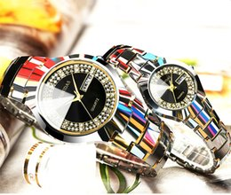 Wholesale superman quartz watches - 2017 Fashion genuine tungsten steel Superman waterproof wrist watch, business table, fashion couple watches, quartz watch