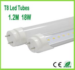 Wholesale T8 High Lumen Led Tubes - LED Tube T8 LED Tube Lighting G13 0.6M 9W  1.2M 18W SMD2835 85-265V High lumen LED Tube Light Replace Fluorescent Tube