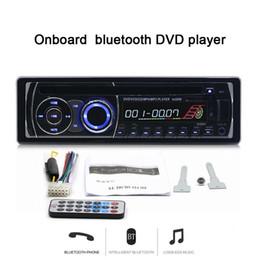 chino pantalla grande tv Rebajas Nuevo 12V Bluetooth para automóvil Reproductor de DVD Radio estéreo FM Reproductor de MP3 Radio para auto In-Dash one DIN DVD Reproductor de CD Radio del vehículo 8169A