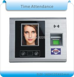 """Wholesale Touch Screen Time Attendance - Newset 2.8"""" TFT Touch screen Fingerprint+password+Face Recognition Attendance Machine time Attendance Clock Recorder nosoftware"""