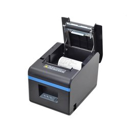 "Wholesale Printer Receipt Paper - Printers 80mm Thermal USB Square Receipt Printer - Auto Cutter - Cash Drawer Port - Paper Width 3 1 8"" (80mm) ,High-speed Printing"