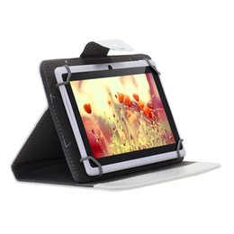 """Wholesale Black Leather Accessories - 7 Inch 9 Inch 10 Inch Tablet Case PU Leather Stand Folding Folio Smart Cover Cases For 7"""" 9"""" 10.1"""" Tablet PC"""