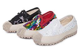 Wholesale Girl Shoes Size 31 - 6pari new Autumn Children's Casual Shoes Breathable sequins Single shoes Non-slip rubber soles girls' shoes free shipping DHL SIZE 31--36