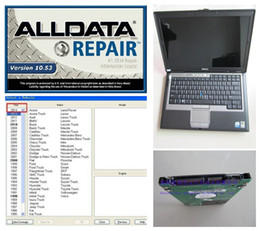 Wholesale Good Laptops - Installed Well in 2GB D630 Laptop-- Alldata 10.53 auto repair software and mitchell on demand software good quality
