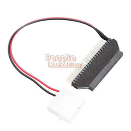 Wholesale Hard Drive Usb Adapter Ide - IDE 3.5 to 2.5 Laptop Hard Disk Drive Adapter Convertor Card Power Cable P4PM