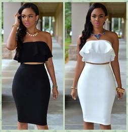 Shoulder Crop Tops Skirts Online Wholesale Distributors, Shoulder ...