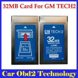Wholesale Gm Tech2 32 Mb Card - Top-Rated 32MB Card For GM TECH2 (For GM,OPEL,SAAB,ISUZU,SUZUKI,Holden) 32 MB Memory Card Free Shipping