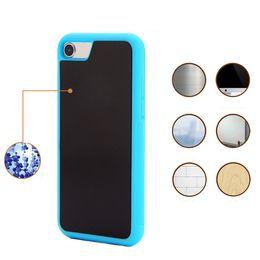 2019 iphone s6 nuevo pc Anti Gravity Selfie Magia Nano Sticky Absorption Hybrid PC TPU Funda Funda para iPhone 7 Plus 6 Plus 5s 6s Samsung S7 S6 Edge Plus Note5 Nuevo iphone s6 nuevo pc baratos