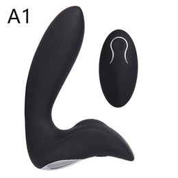 Wholesale Adult Male G Spot Vibrator - Prostate Massage Anal Plug Wireless remote Motor Vibrator Butt Plug Clitoris Masturbator, Gay Anal Plug Adult Sex Toys for Man