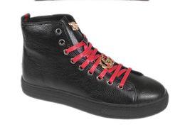 Wholesale European Heels - 2018 New concept European male Lace-Up loafers set auger low help men breathable wingtip shoes wedding banquet a leather shoes M146