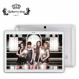 Wholesale Kids Tablet Computers - Wholesale-BOBARRY S106 4G LTE Android 6.0 10.1 inch tablet pc Octa Core 4GB RAM 32GB ROM 8 Cores 5MP IPS Kids Gift Best Tablets computer