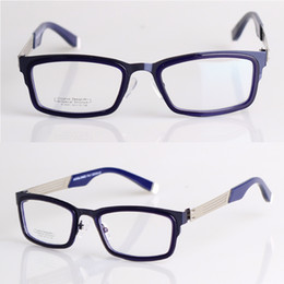 Wholesale Men Glasses Frames Metal Full Rim Frames RS mm Color Silver Grey Dark Blue Coffee