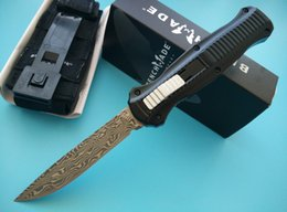 Wholesale Tactical Knife Sets - Benchmade Gold Class Infidel O the front Knife 3310-91 3300 3310 Infidel Tactical knife knives with nylon sheath New in original box