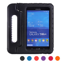 Wholesale Tablet Protective Case For Kids - Children Kids Safe Durable Thick Foam Shock Proof EVA For Samsung Galaxy tab 4 8.0 T330 T331 Tablet Cover Stand Handle case