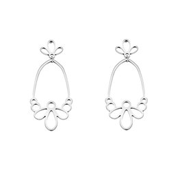Wholesale Handmade Pearl Rings - GORGEOUS TALE Flower Drop Earrings Female High Quality Handmade Thailand Crafts for Wedding Party Daily Gift Fashion Jewelry