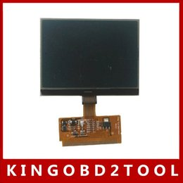 Wholesale A6 Lcd Display - 10pcs lot with factory price for audi a6 lcd display,Free Shipping via dhl!! LCD display for Audi A3 A4 A6 VW VDO LCD display
