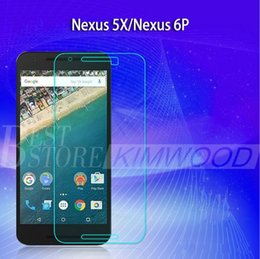 Wholesale Nexus Screen Protector Retail - Nexus 5X Nexus 6P Top Quality Tempered Glass Screen Protector 0.2MM 9H 2.5D With Retail Package Free DHL