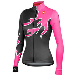 Wholesale Women Sale Sport Wear - Hot sale 2014 women New cycling clothes Pro Team cycling sports wear cycling Long Sleeve JERSEY outdoor ciclismo outfits,Breathable