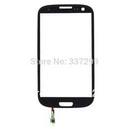 Wholesale S3 Glass Grey - Wholesale-Good Quality Hot Sale Wholesale Grey Glass Lens Sensor Flex Cable For Samsung Galaxy S3 SIII I9300,Free Shipping
