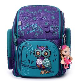 5272895fa078 High Quality Brand School Bags For Girls 3d Bear Print Schoolbag Children  Orthopedic Backpack Mochila Escolar Birthday Gift