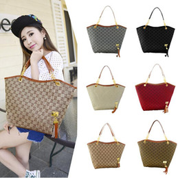 Wholesale black nylon tote - HOT !New Tassel Canvas Chain Bag for Women Top Quality Fashion Handbag Designer Ladies Shoulder Messenger Bag Bolsas Tote #0825
