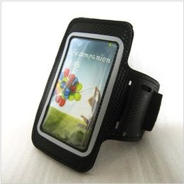Wholesale Sumsung Galaxy S4 Cases - Wholesale-Sports Running workout dustproof Armband in Phone Bags & Cases and Cover for sumsung galaxy i9500 s4,Christmas gift