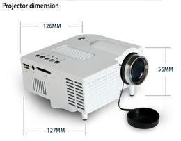 "billige mini lcd projektoren Rabatt UC28 Portable Pico führte Mini-HDMI-Videospiel-Projektor, digitale Tasche Heimkino Projector Proyector für 80 ""Kino"