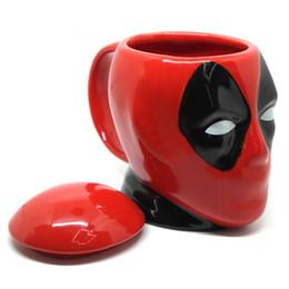 copos de filme Desconto Hot Os filmes americanos dos desenhos animados Caneca copo cerâmico vermelho All Saints 'Day presentes irrisórios café xícara de café de Proteção Ambiental IB581