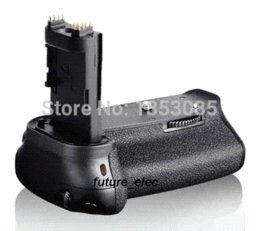Wholesale Bg E13 - Battery Hand Handle Grip Holder Pack Vertical Multi Power Shutter For Canon EOS 6D SLR Camera replace BG-E13+IR Remote+2 x LP-E6