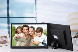 lecteur de films pc Promotion HD TFT-LCD cadre électronique cadre photo numérique MP3 / 4 Movie Player avec Remote Desktop Livraison DHL gratuite