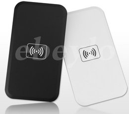 Wholesale Qi Wireless Charger Transmitter Iphone - Universal Cell Phones Qi Wireless Charger Wireless Charging Pad Wireless Charging Panel Transmitter for iPhone Samsung Nokia All Phones