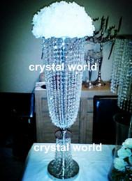 decorazione della tavola di nozze, centrotavola all'ingrosso del piano d'appoggio di cristallo del cristallo da decorazioni da tavolino fornitori