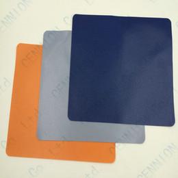 Wholesale Blue Mouse Mat - Colorful New tasteless Mice Mouse Pad Mat Mousepad 17.5cmx21.5cm 1000pcs lot